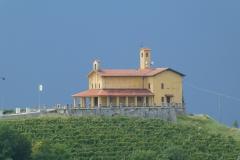 La cappella del sacraio dei Partigiani
