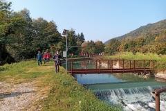 Lungo un canale a Borgo S.D.