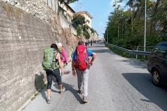 In salita dalle Basse di Stura - Cuneo