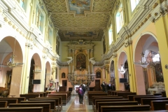 Interno Chiesa parrocchiale di Demonte